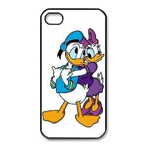 iphone4 4s Phone Case Black Daisy Duck UYUI6796530