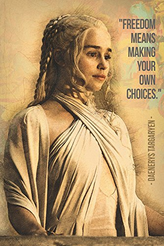 TST INNOPRINT CO Daenerys Targaryen GOT Game of Thrones Quot