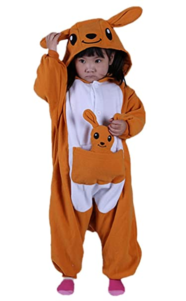 DATO Niños Animal Ropa de Dormir Canguro Cosplay Disfraces Pijamas: Amazon.es: Ropa y accesorios