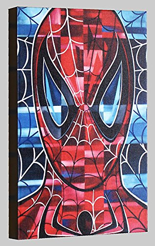 Spider-Man by Tim Rogerson - Limited Edition of 215 - Gallery Wrapped Giclee Canvas - NEW 17x11 with COA - Officially Licensed and Published by Marvel Fine Art Alex Ross Spider