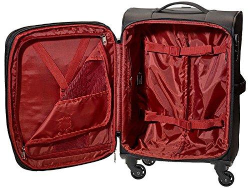 SWIZA Mehrzweckkoffer Eventual, Weichschale, Nylon-Twill, Polyester 150D/PU, 4 Räder, Taschen, Volumen 45 Liter