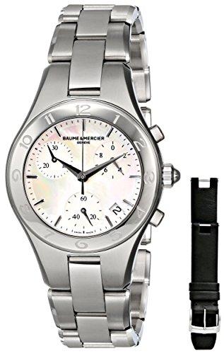 baume-mercier-womens-moa10012-linea-stainless-steel-watch