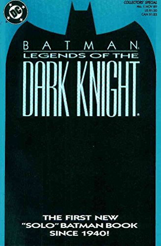 Batman Legends Of The Dark Knight 1 (blue) Vf-nm Comics
