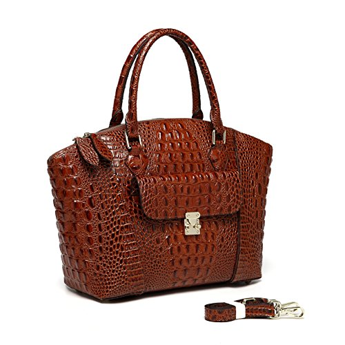carrina-croc-embossed-leather-handbag-chestnut