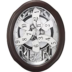 Rhythm Clocks Anthology Espresso Magic Motion Clock