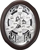 "Cheap Rhythm Clocks ""Anthology Espresso"" Magic Motion Clock"