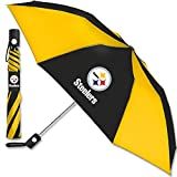Pittsburgh Steelers NFL 42 Inch AUTOMATIC FOLDING UMBRELLA