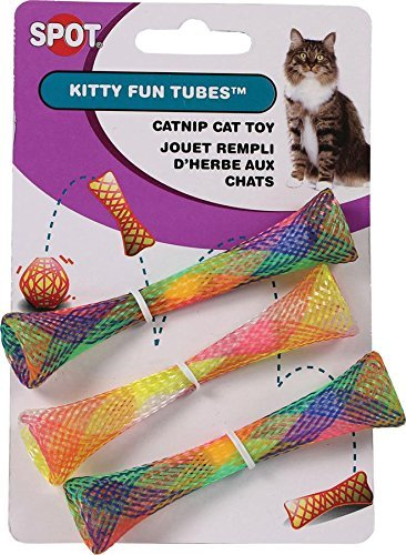 Spot Cat or Kitten Colorful Fun Tubes Size:Pack of 3