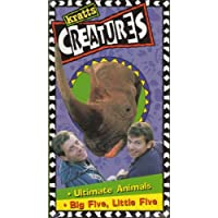 Kratt's Creatures : Ultimate Animals Big Five, Little Five [VHS]