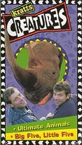 Kratt's Creatures : Ultimate Animals Big Five, Little Five [VHS]