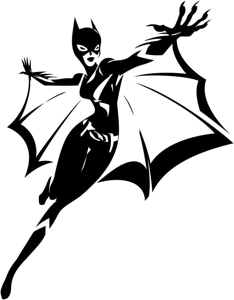 Batwoman Vinyl Decal Sticker Design Art Create SuperHero Family USA Seller