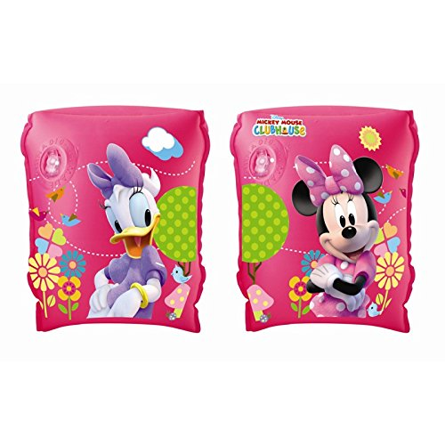 Bestway 23 x 15 cm Girls Disney ARM Bands with 2-air Chambers Minnie Paperina 91021
