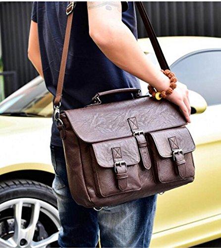 Pack A1 Shoulder Skip Backpack Men's Business qSHEww6