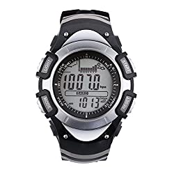 SunRoad FX704A Fishing Men Watch-Multifunction Digital Fishing Barometer Thermometer Altimeter Watch Outdoor Sports Clock