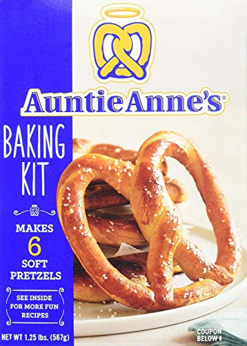 - Auntie Anne's Make Your Own Pretzel Baking Kit 1.25-Pound Box (3 Boxes)
