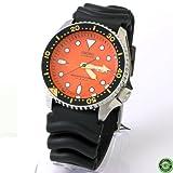 Seiko Diver Orange Dial Automatic Mens Watch SKX011J1, Watch Central