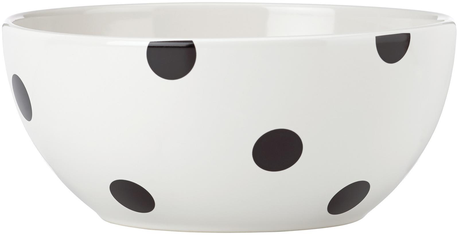 kate spade new york All in Good Taste Deco Dot Dinnerware Serving Bowl - White - 8''