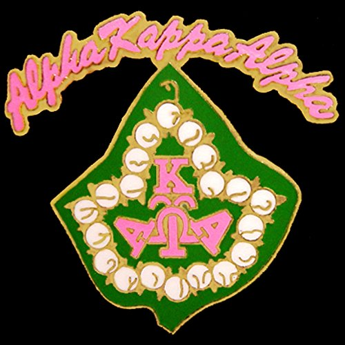 Alpha Kappa Alpha Sorority New Ivy Leaf Umbrella Lapel Pin (Umbrella Ivy)