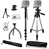 SSE® Complete Tripod Kit for the GoPro Hero, Hero2, Hero3, Hero3+, Hero4, Hero+