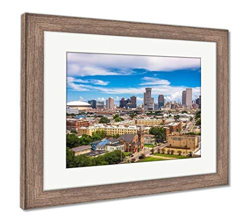 - Ashley Framed Prints New Orleans, Louisiana, USA, Wall Art Home Decoration, Color, 26x30 (Frame Size), Rustic Barn Wood Frame, AG32219546