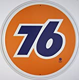 Nostalgic Oil & Gas Tin Metal Sign : Union 76 Gasoline