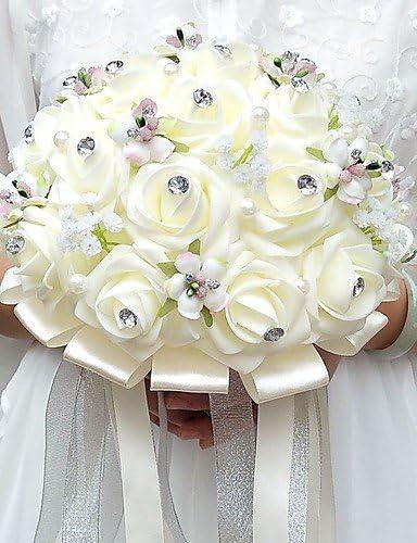 Bouquet Sposa Tondo.Wxtdh Bouquet Sposa Tondo Rose Bouquet Matrimonio Partito Sera