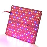 LED Grow Light, Aceple 20W Indoor Growing Ultra-thin Panel Plant Light with Switch