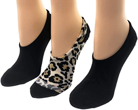3 pairs ladies womans girl friends the TV series shoe liner  socks size 4-8