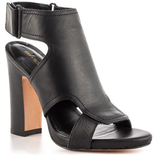 Pour La Victoire Women's Echo Dress Sandal,Black,8 M US