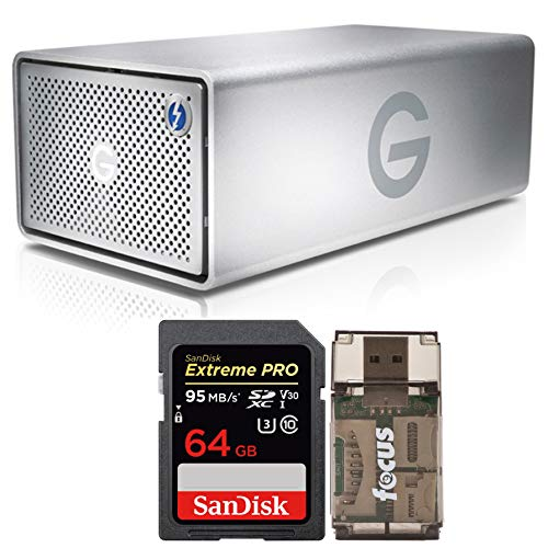 G-Technology G-RAID 8TB Dual Drive System with Thunderbolt, used for sale  Delivered anywhere in USA
