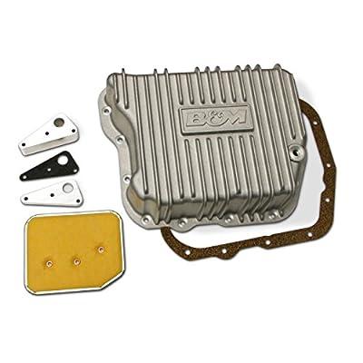 B&M 10280 Aluminum Transmission Pan: Automotive
