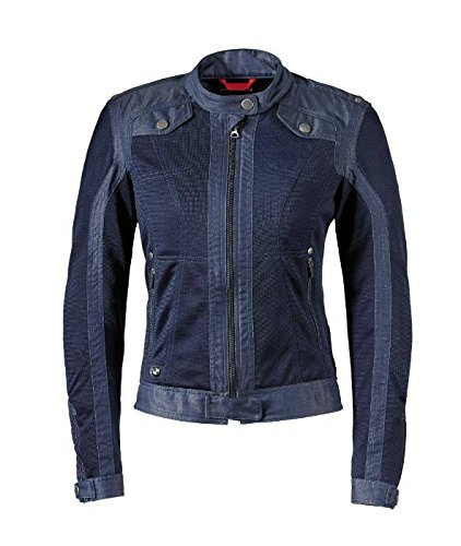 Bmw Riding Jackets - BMW Genuine Motorcycle Women Ladies Venting Denim / Mesh Riding Jacket Size 40