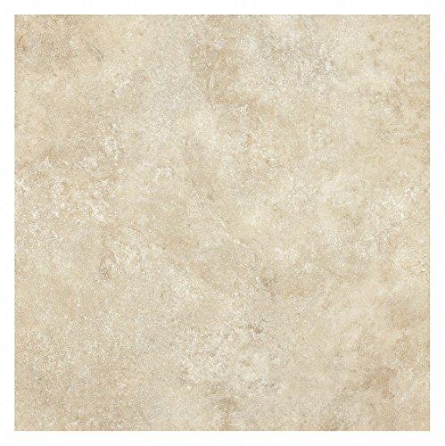 (Vinyl Tile Flooring, Sierra Cream, PK16)