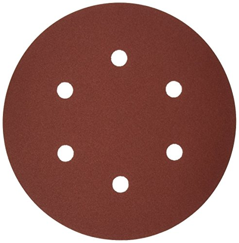 Bosch SR6R182 25-Piece 180 Grit 6 In 6 Hole Hook-And-Loop Sanding Discs