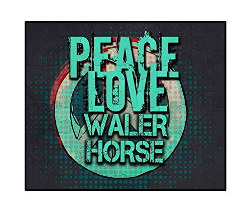 Makoroni - Peace Love WALER Horse - Jigsaw Puzzle, 30 pcs.