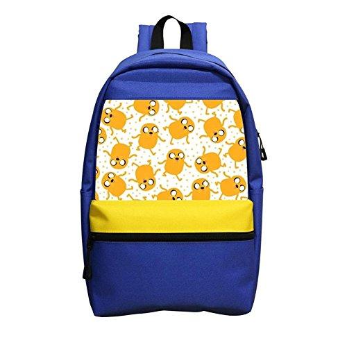 kohihrkhdrjs Ad-venture Time School Backpacks Youth Elementary School Bags Bookbag Boys Girls