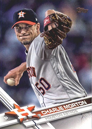 2017 Update Series #US39 Charlie Morton Houston Ast Baseball Card
