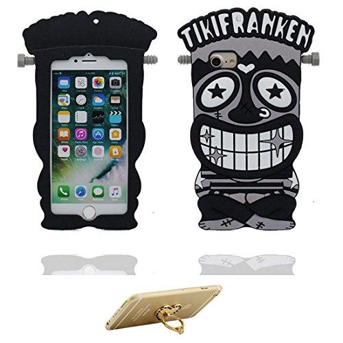 """Coque iPhone 6, iPhone 6s Étui (4.7""""), [ TPU Material Flexible ] iPhone 6 case (4.7""""), Dust Scratch Resistant, Aborigène Case & ring Support de téléphone"""