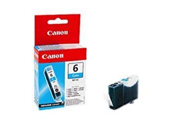 Canon BCI-6C - Cartucho de tinta para impresoras (Cian ...