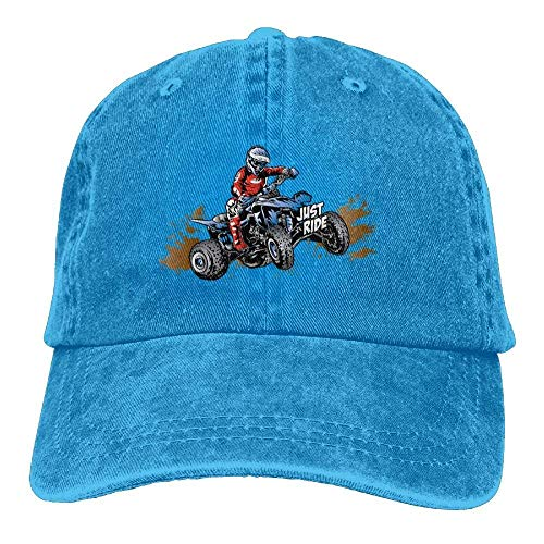 Hat Dad Adjustable Ride Walnut Denim Hat Cake béisbol Quad Off Women's Baseball Gorras Just Road 4qzUxH7qn