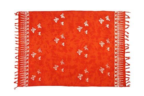 Ciffre - Camisola - para mujer 2 er Set Schmetterling Orange