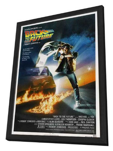 Back to the Future - 27 x 40 Framed Movie Poster by Movie Posters