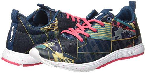 Bleu 5188 Dark Sneakers lgion Denim Shoess Bleu Chaussures D'entranement Desigual 17wkrw01518 qvwA0HH