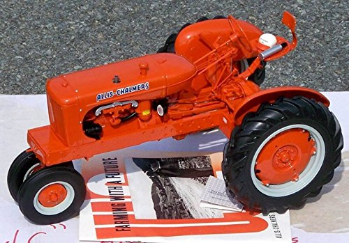 Franklin Mint Tractors (Franklin Mint ALLIS CHALMERS WC Farm Tractor in LARGE 1:12 Scale Diecast Metal)