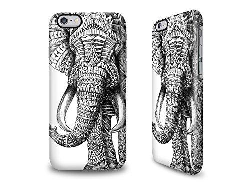 Hülle / Case / Cover für das iPhone 6 Plus mit Designer Motiv - ''Ornate Elephant'' von BioWorkZ