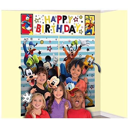 5-Piece Set Mickey Scene Setter, Multicolored -