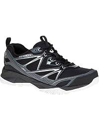 MERRELL Capra Bolt GTX Ladies Hiking Shoe, Black, US8.5