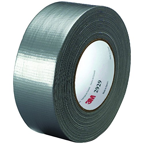 Partners Brand PT9872929 Silver 3M 2929 Duct Tape, 50 yd. Le