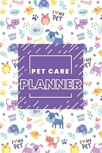 Pet Care Planner - Pet Sitter | Pet Vaccination | Grooming Records | Vet Records | Pet Medication: Pet Care Planner Kit Dog Cat Binder Vaccinations ... Flea Heartworm Tracker Medications Boarding