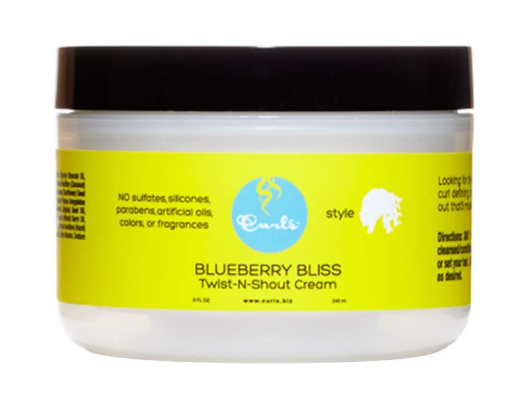 Curls Blueberry Bliss Twist n Shout Cream 8 oz by Curls